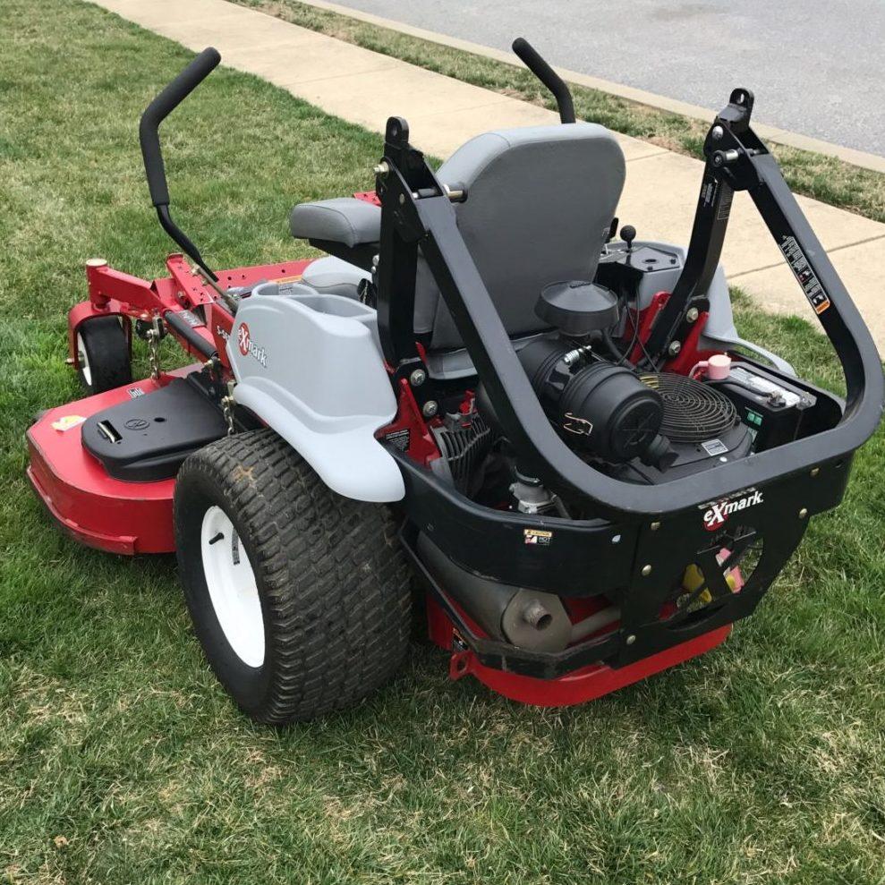exmark commercial mower